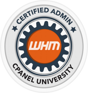 cpanel certified whm admin badge